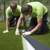 Nieuwsbericht: Vario: topmat van kunstgras op fundering van gerecycled beton